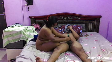 Desi Indian Naughty Warm Stunning Bhabhi Bang out Plumbing Neighbor