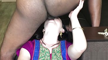 Indian Hooker Lady Penetrated Real Firm in Motel Room (Dripping Creampie) -IMWF