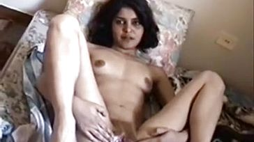 Astounding Indian Gf strokes and Gets buttfuck