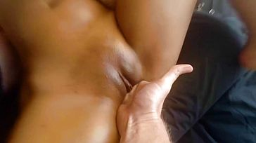 4X Large Bootie Drizzles from 21yo Asian First timer Girlfriend in Oil Massage
