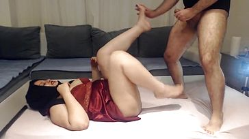 INDIAN DESI BHABHI Pulverized Rigid BY HER DEVAR SECRETLY AT HOME !