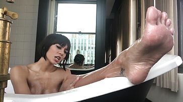 Tub wanking solo snap compilation REAL Ejaculation and sole idolize