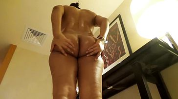 Desi Wife Super steamy Caboose Greased Blowjob And Poke With Hindi Audio