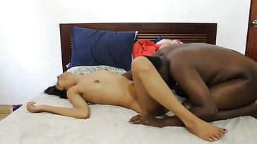 Sri lankan Hardcore couple. Web duo seep