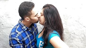 British Indian Duo Smooching