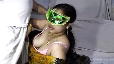 Mature Indian Cougar Bhabhi Velamma Fellating Large Penis