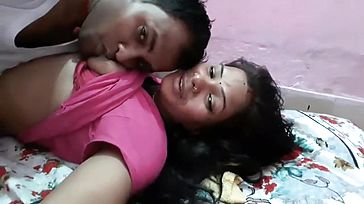Married Indian Couple Enjoy