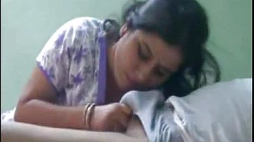 Uber cute Bhabhi deep throating lover Chisel