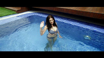 Evelyn Sharma Bathing suit Thick Ass