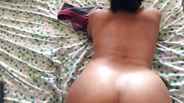 Indian Woman Milky Shaft Doggy