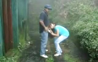 Brit Indian Duo Pound In Rain Storm at Hill Station
