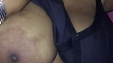 Grand Ma daughter in law Mallu aunty with immense hooters 1