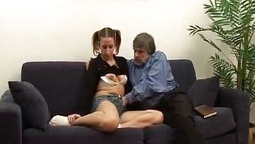She Pleases her stepfathers passion !