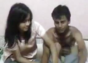 Brutish south Indian chick With boyfriend