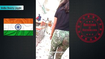 India backside wiggle
