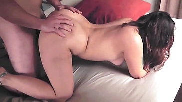 Bf tapes samina with a milky boy banged and jizzed on